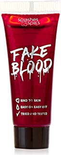 Realistic Fake Blood - Face and Body Paint - 10ml - Pretend Costume and Dress Up Makeup by Splashes & Spills