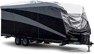 Camco 22' - 24' ULTRAGuard Supreme RV Cover-Extremely Durable Design Fits Travel Trailers, Weatherproof with UV Protection and Dupont Tyvek Top (56128)