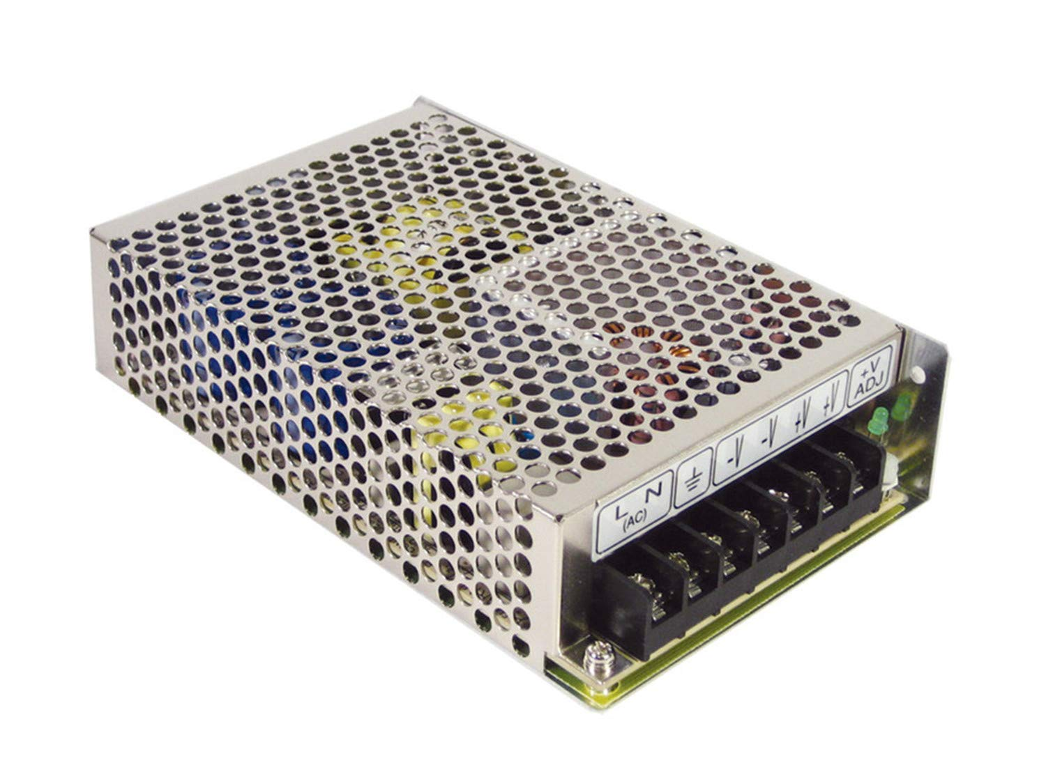 MEAN WELL RT-85A RT-85 Series 85 W Triple Output 5 / 12 / -5 V AC/DC Switching Power Supply - 1 item(s)