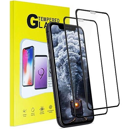 【2枚セット】 iPhone 11 Pro Max/Xs Max ガラスフィルム 【日本製素材旭硝子製】 液晶保護フィルム 業界最高硬度9H/透過率99%/貼付け簡単/自動吸着/気泡なし 強化ガラスフィルム ( アイフォン 11 Pro Max/Xs max用 )