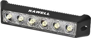 Kawell 18W LED Light Bar Off Road LED Flood Work Light Bar for Jeep Cabin Boat SUV Truck ATV Fishing Deck Driving