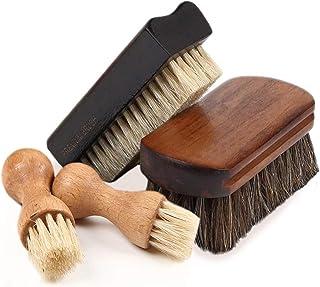 [FOOTSTEPS] 靴磨き ブラシ セット 馬毛ブラシ 豚毛ブラシ ペネトレイトブラシ セット