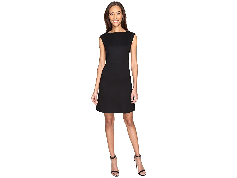 Pendleton Ultra 9 Stretch Wool Harrow Dress (Black Ultra 9 Stretch Worsted) Women