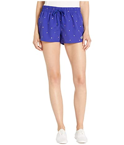 The North Face Class V Mini Shorts (Aztec Blue Outdoor Print) Women