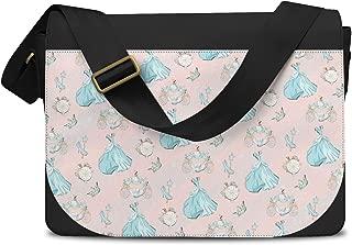 Almost Midnight Cinderella Inspired Messenger Bag - One Size Messenger Bag