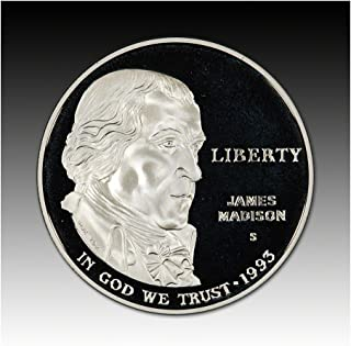 1993 S US Commemorative Proof Silver Dollar Bill of Rights $1 DCAM Proof US Mint