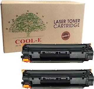 Compatible with HP 36A CB436a Toner Cartridges Replacement for M1522n M1522nf MFP P1505 M1212nf P1102w Black (Pack for 2pk)