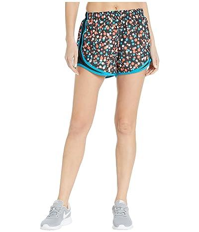 Nike Tempo Shorts Print Daisy (Magic Ember/Black/Laser Blue/Wolf Grey) Women