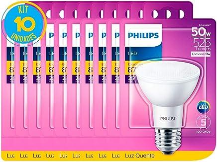 Lâmpada Led Par20 Luz Quente 6.5W Philips (10 Unidades)