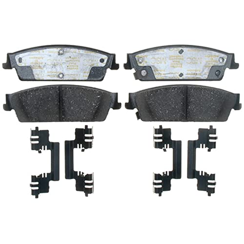 ACDelco 17D1194CH Professional Ceramic Rear Disc Brake Pad Set