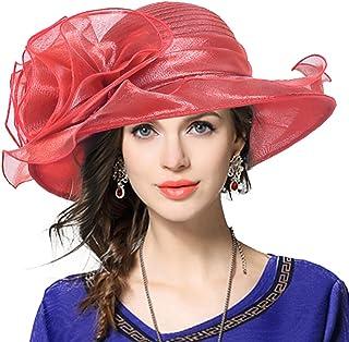 fbaba6e8037 VECRY Ladies Derby Church Dress Cloche Hat British Glistening Bucket Hat  Bowler
