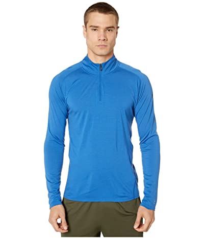 Smartwool Merino 150 Base Layer 1/4 Zip (Light Alpine Blue) Men