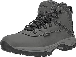 Kitleler Men`s Waterproof Hiking Boots Lightweight Outdoor Winter Boots