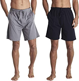 Best cotton mens sleep shorts Reviews