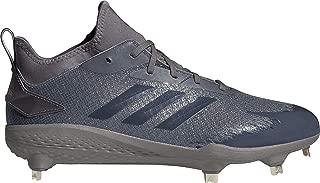 adidas Adizero Afterburner V Dipped Cleats Men's,  Grey,  Size 11