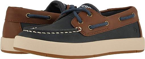Navy/Brown