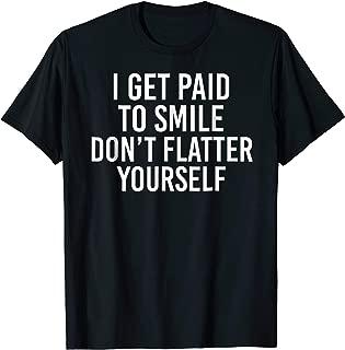 Funny Barista Bartender Waiter T-Shirt For Men And Women