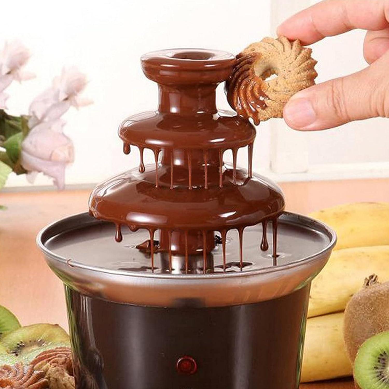 Seasonal Wrap Introduction Selling Futchoy 3 Tiers Home Version Chocolate Fountain H Fondue Machine