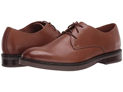 Clarks Paulson Plain (Tan Leather) Men
