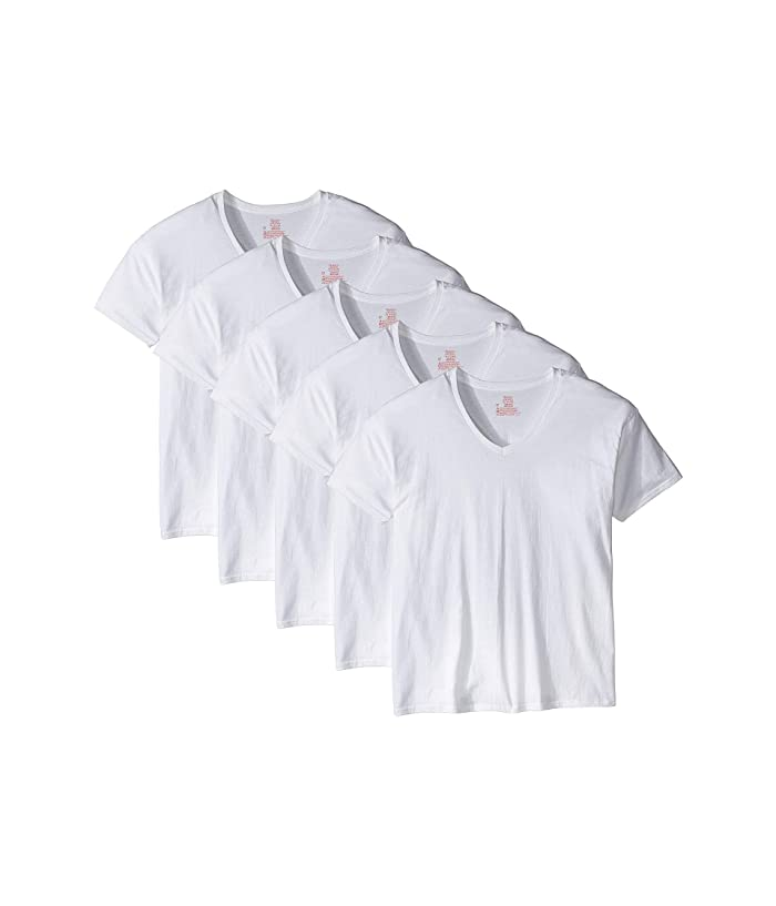 Neck Tee Pack White