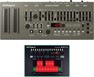 Roland SH-01a Synthesizer Module with Roland TB-03 Bassline Synthesizer