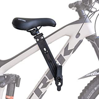 SHOTGUN Kids Bike Seat for Mountain Bikes | Front Mounted Bicycle Seats for Children 2-5 Years (up to 48 Pound) | Compatib...