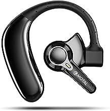 هدست بلوتوث ، emotal Dual-Mic ENC Noise Cancelling 30Hrs HD Talktime V5.2 هدست بلوتوث بی سیم 200Hrs آماده به کار IPX6 هدفون ضد آب ضد آب فوق سبک برای مشاغل/تمرینات و رانندگی