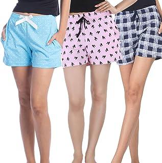 NITE FLITE Cotton Sleep Shorts - Pack of 3