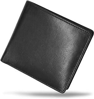 MURA 二つ折り財布 財布 メンズ 本革 二つ折り 軽い カード7枚収納 隠しポケット
