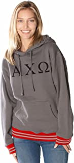 Rush 101 Alpha Chi Omega College Hoodie with Ohio Colored Trim
