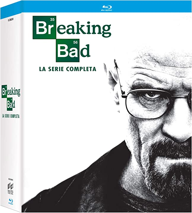 Breaking bad collection 1-6 (2018) (box set) (21 dvd) - icon edition B07DVGSXNR