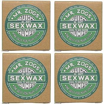 4個セットSEX WAX セックスワックス サーフワックス/サーフボードワックス サーフボード滑り止め