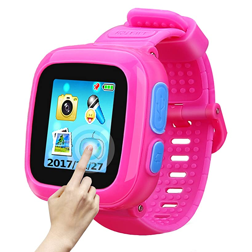 Game Smart Watch of Kids, Girls Watch with Game,Kids Smartwatch with Game Wrist Watch Education Toys Boys Girls Gifts (Pink)