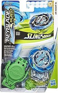 Starter Pack Beyblade Brust Turbo Sling Shock Peonza con