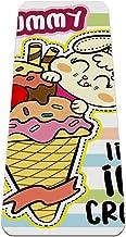Yoga Mat Antislip TPE muis ijs Hoge dichtheid vulling om pijnlijke knieën te voorkomen, Perfect voor yoga, pilates en fitness