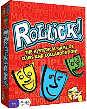 Rollick - Team Charades Game - Hysterical Family Party Game - Includes 756 Reverse Clues - Great for Game Nights and ...