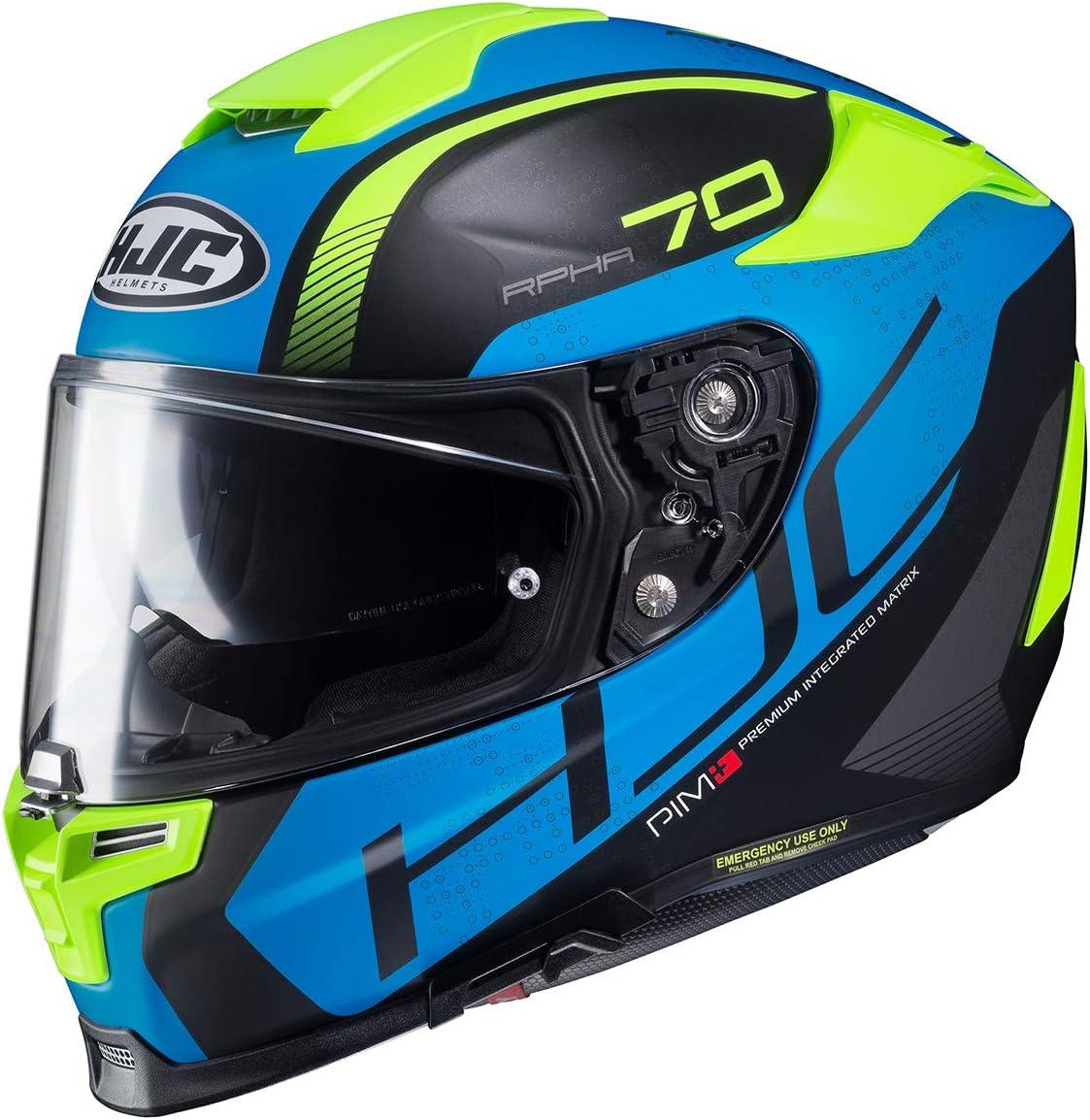 HJC casco rpha70 vias mc1sf xxs