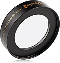 Opteka Achromatic 10x Diopter Close-Up Macro Lens for Canon EOS 90D, 80D, 77D, 70D, 60D,..