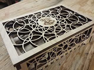 Harry Potter Wooden Box | Harry Potter Jewelry Box/Desk Chest | Harry Potter Gift