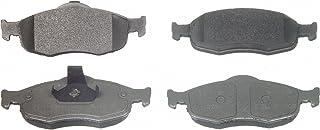 1999-2002 Cougar Bosch BP648 QuietCast Premium Semi-Metallic Disc Brake Pad Set For Ford 1995-2000 Mystique; Front 1995-2000 Contour; Mercury