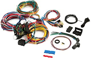 Mophorn 21 Circuit Wiring Harness Kit Long Wires Wiring Harness 21 standard Color Wiring Harness Kit for Chevy Mopar Hotrods Ford Chrysler Universal