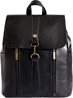 Lino Perros Women's Backpack Artificial Leather (Black)
