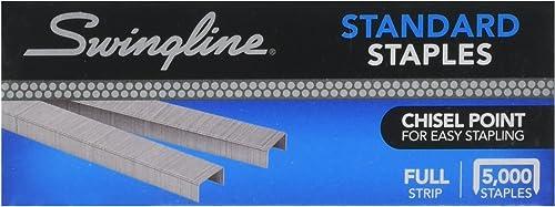 Swingline SF1 Standard Staples (5,000 per Box)