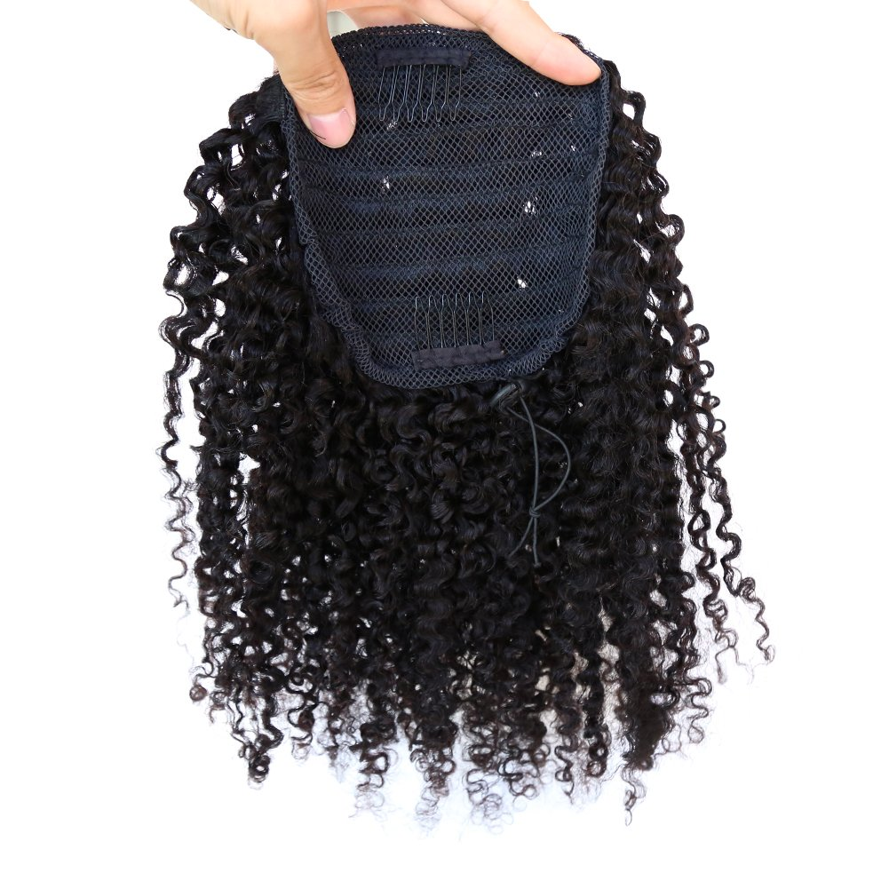 ZigZag Hair Afro Kinky Curly Top Brazil Houston Mall online shop Closure Ponytail Clip-in