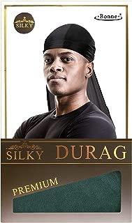 Silky Satin Durag (DARK GREEN)