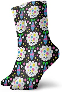 ASS, Pack de calcetines unisex Pack Tie Cloud Funny Polyester Crew Socks