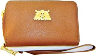 Tech Wristlet with Gold Tone Logo