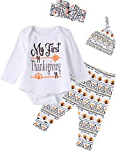 Best 0 3 months thanksgiving outfits Reviews