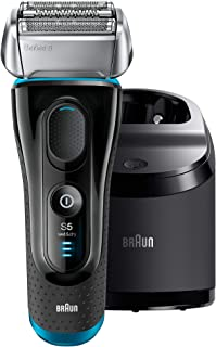 Braun Series 5 5190cc Men's Electric Foil Shaver and Clean & Renew 1 Pack