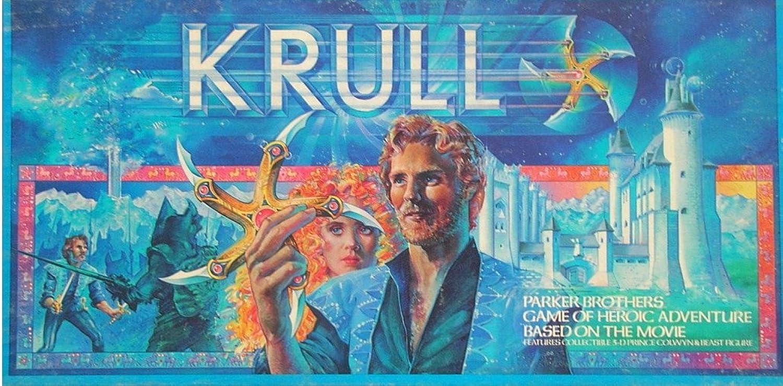 VINTAGE 1983 KRULL BOARD GAME- GAME OF HEROIC ADVENTURE